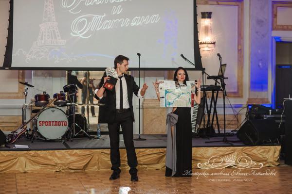 Иллюзионист Ларионов на свадьбе в отеле четыре сезона спб