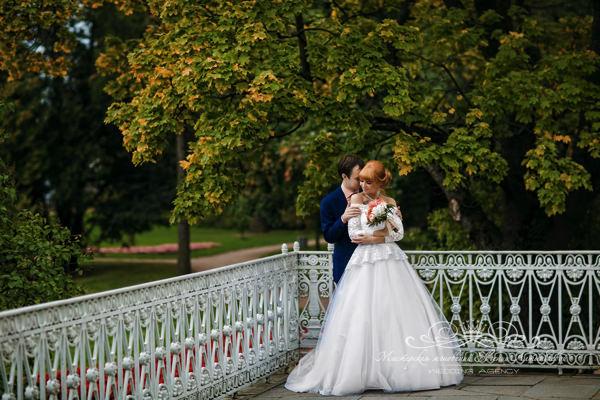 Красивые места в парках для свадебной фотосессии