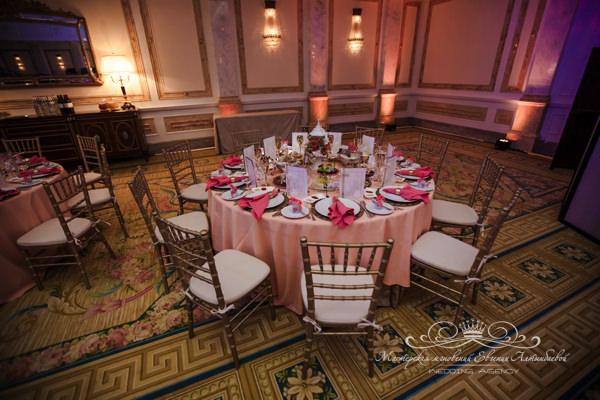 Красивое оформление свадьбы в отеле four seasons lion palase