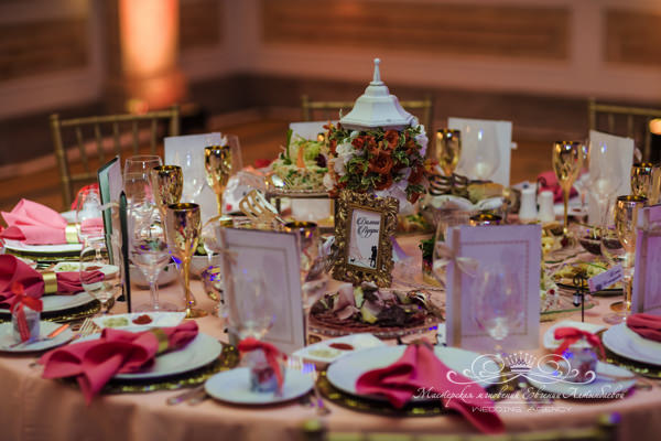 Организация свадьбы во Французском стиле