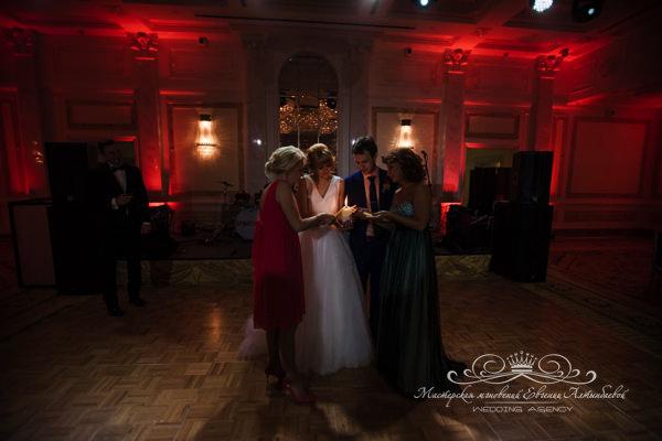 Семейный очаг на свадьбе в отеле фор сизонс спб