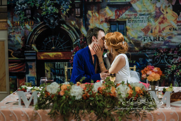 Свадьба в стиле париж в отеле фор сизонс