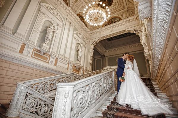 Свадебная фотосессия во дворце в спб