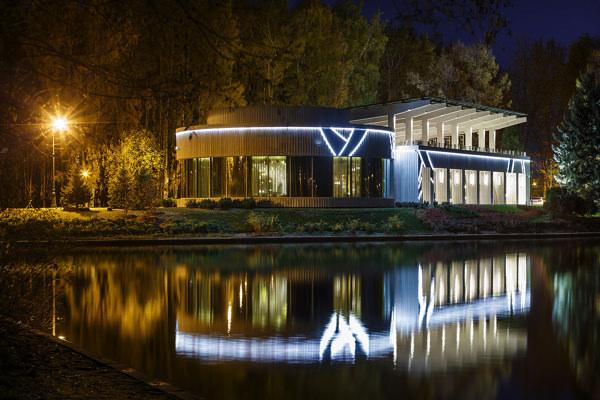 Ресторан il lago dei cigni для проведения свадьбы