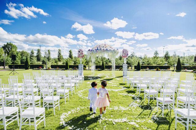 Дети ангелочки на свадьбе