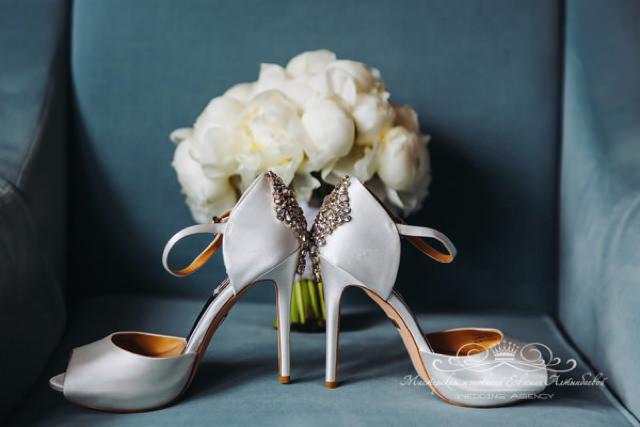 Идеальные свадебные туфли