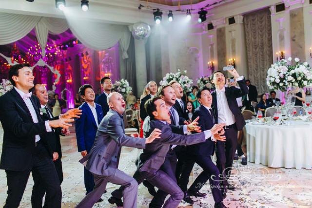 Проведение свадьбы в Летнем дворце