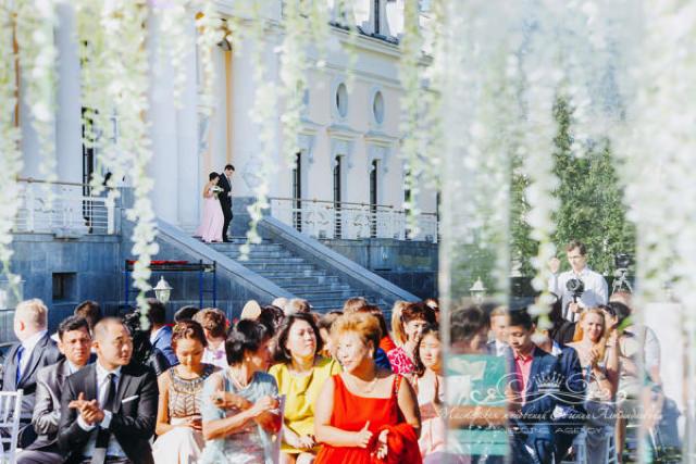 Роскошная выездная регистрация у Летнего дворца