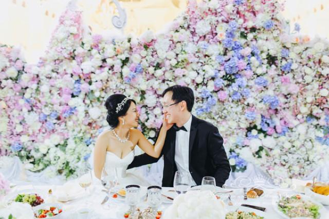 Роскошное оформление свадьбы Спб