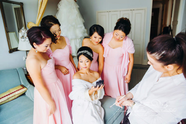 Сборы невесты в отеле Four Seasons