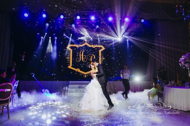 Световое и звуковое оборудование для роскошной свадьбы в Спб