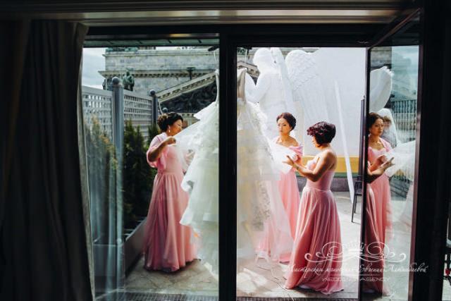 Утро невесты в отеле Four Seasons