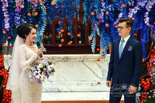 Красивая свадебная церемония в отеле Four Seasons