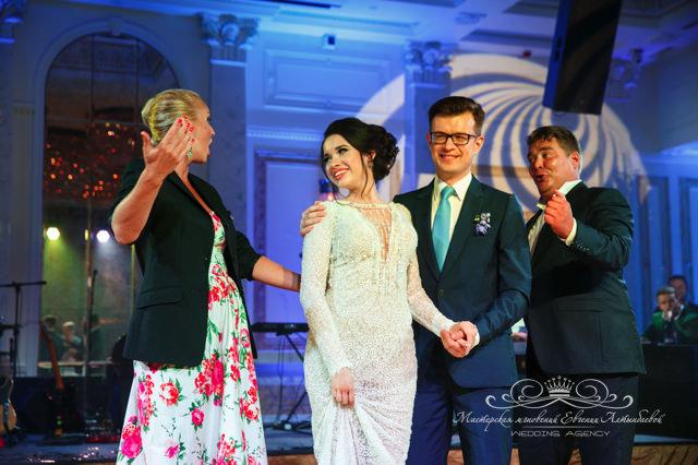 Мид найт опера на  свадьбе в зале Монферан