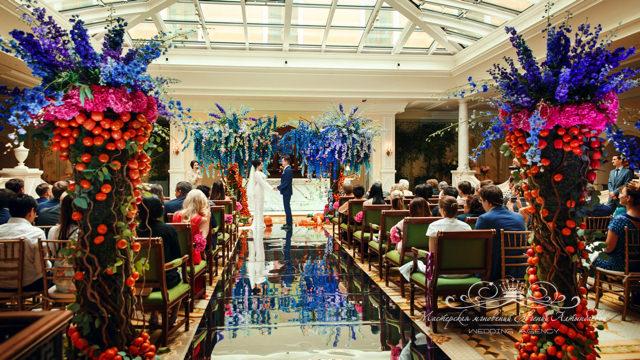 Организация идеальной свадьбы в отеле Four Seasons