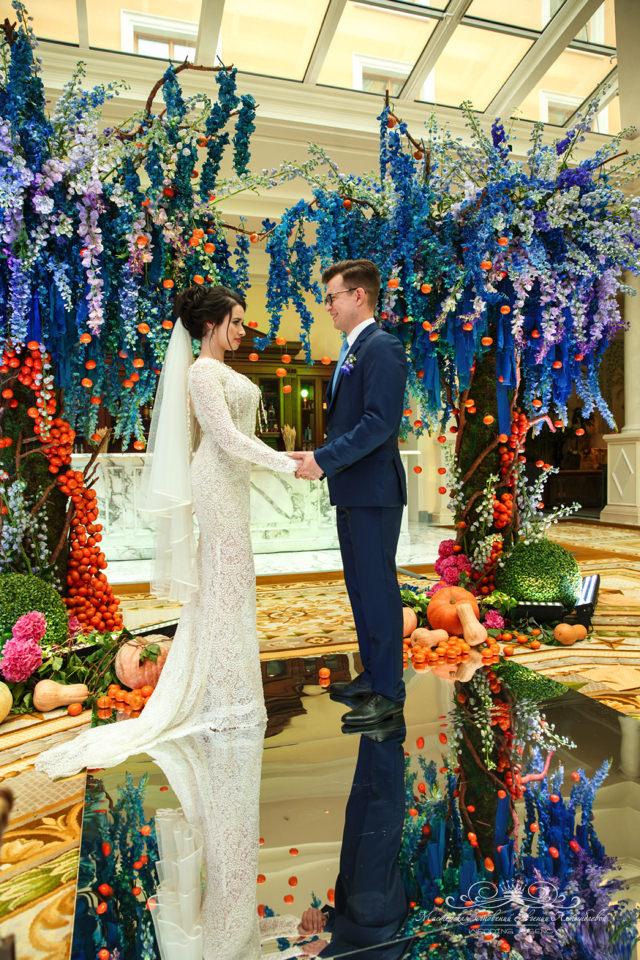 Организация роскошной свадьбы в Спб