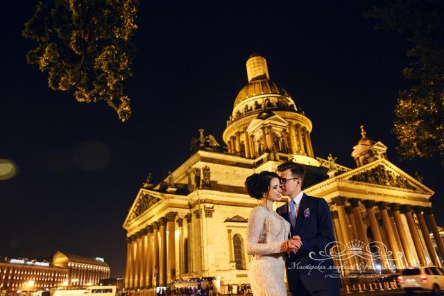 Организация свадьбы в отеле 5 звезд в центре Спб