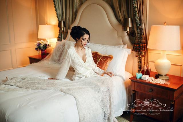 Организация утра невесты в отеле Four Seasons