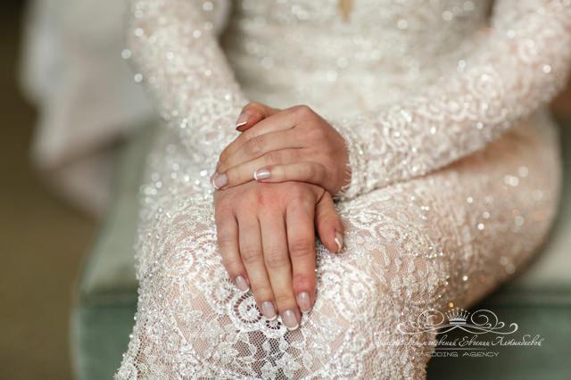 Роскошная ткань для свадебного платья