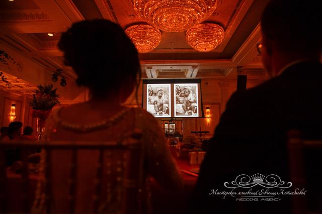 Трогательные моменты на свадьбе в отеле Four Seasons