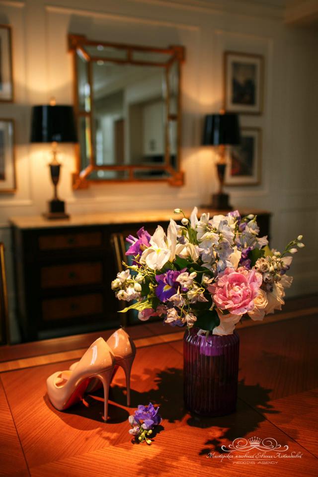 Утро невесты в Дворянском люксе отеля Four Seasons