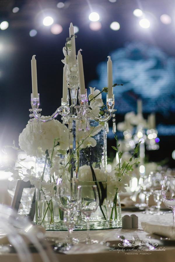 Декор свадьбы 50 оттенков белого