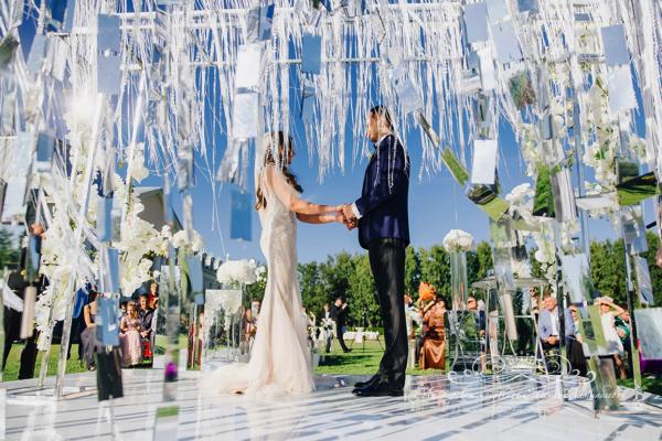 Оформление свадьбы Спб 50 оттенков белого