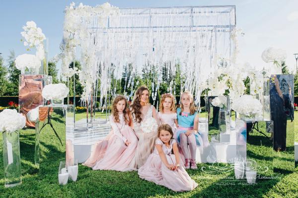 Оформление свадебной арки в Летнем дворце