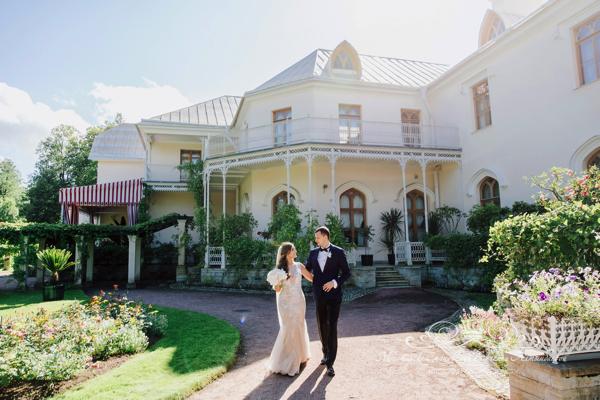 Организация свадьбы 50 оттенков белого в СПБ