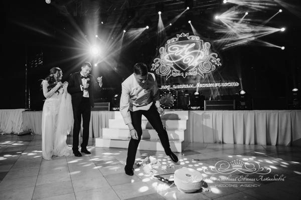Шоу программа на свадьбе 50 оттенков белого