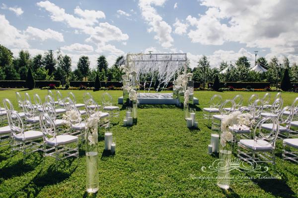 Свадебный декор 50 оттенков белого