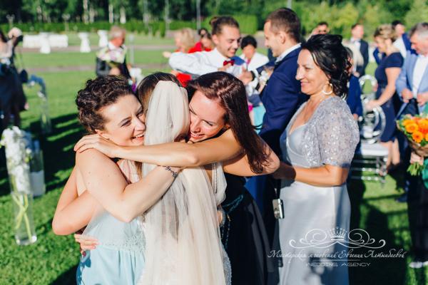 Свадебные эмоции