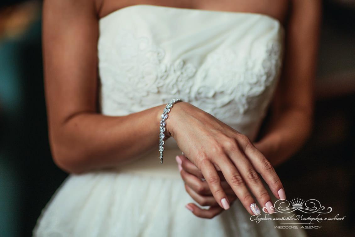 Детали образа невесты dolce&gabbana