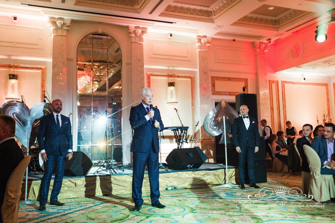Борис Грызлов на свадьбе dolce&gabbana