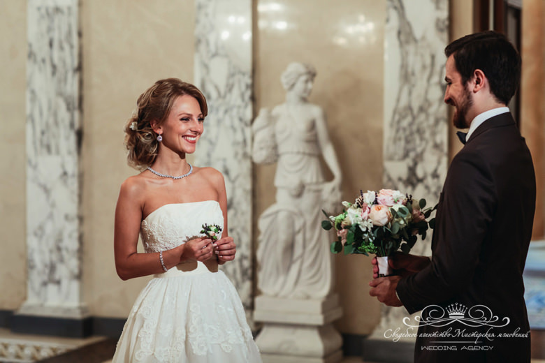 Встреча жениха и невесты dolce&gabbana