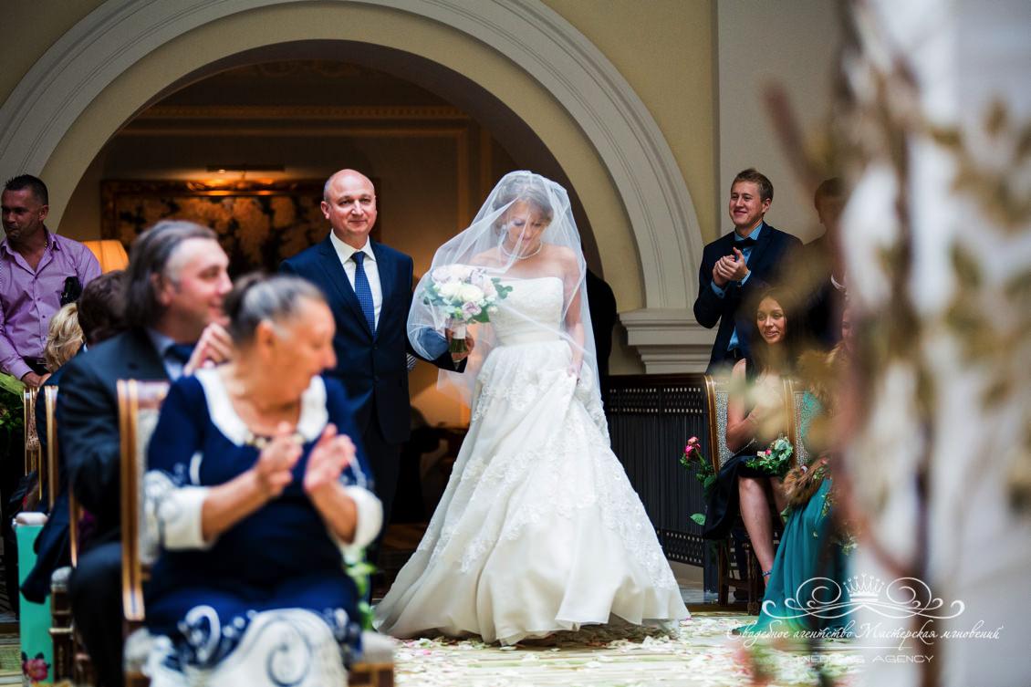 Выход невесты на регистрации dolce&gabbana