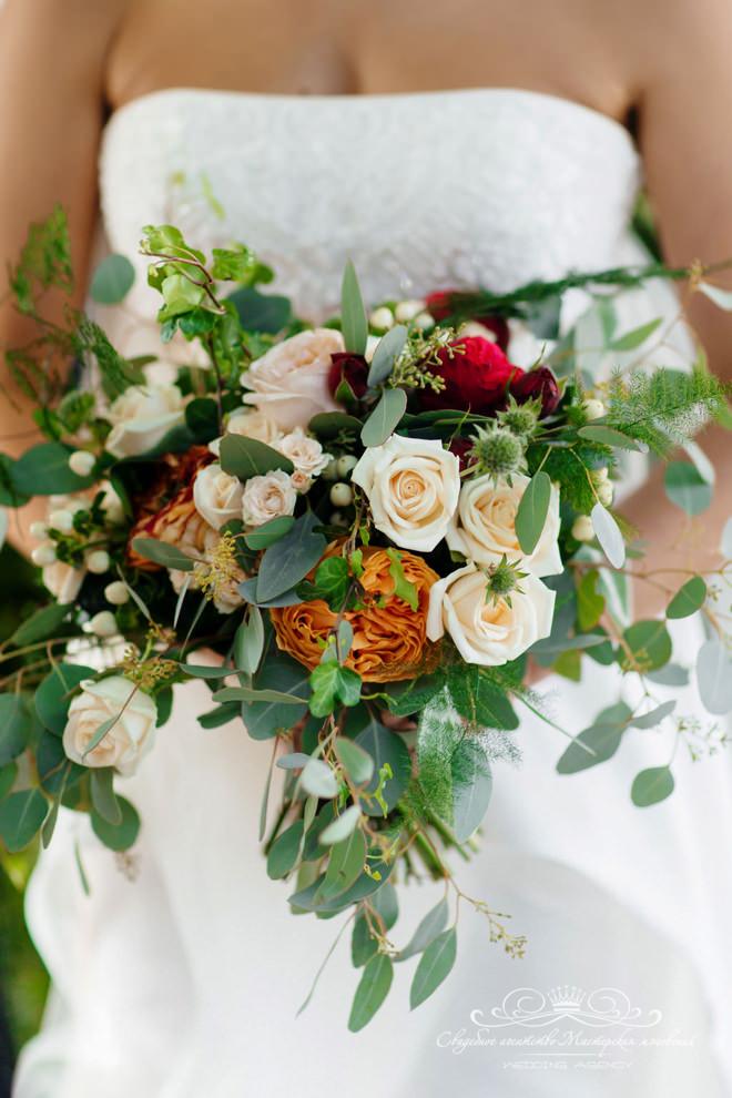 Букет невесты в отеле Скандинавия