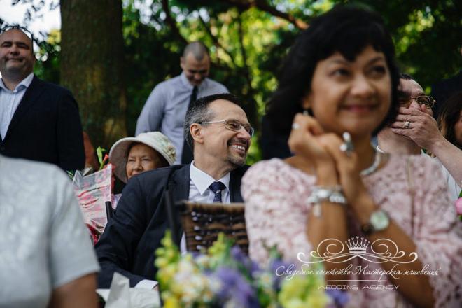 Эмоции на свадьбе в Загородном клубе Скандинавия