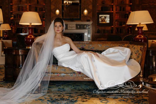 Фото невесты в отеле Скандинавия