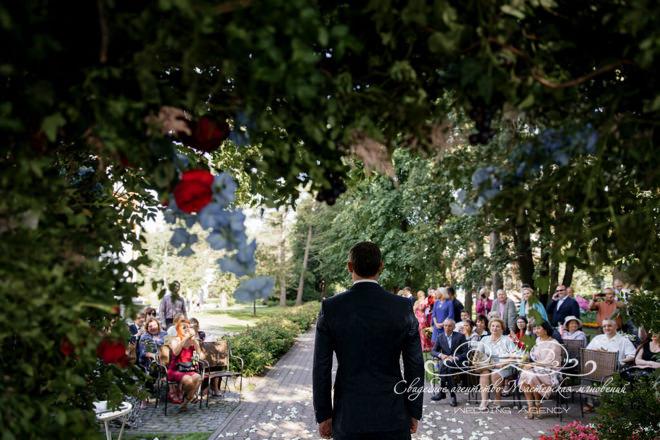 Ожидание невесты в отеле Скандинавия