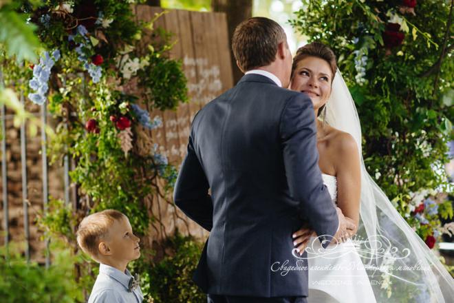 Счастливая свадьба в отеле Скандинавия