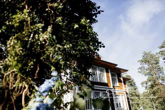 Свадьба в отеле Скандинавия