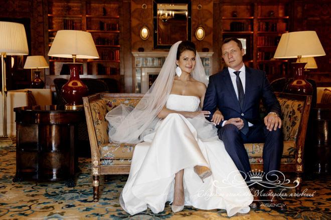 Свадебная фотосессия в отеле Скандинавия