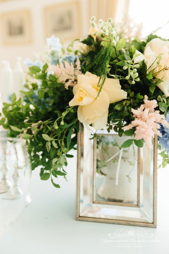 Свадебное оформление в загородном клубе Скандинавия