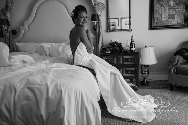 Свадебное платье в отеле Скандинавия