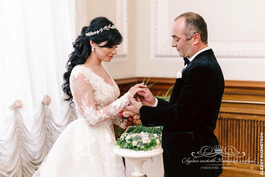 Дворец бракосочетания 1 грузинская свадьба