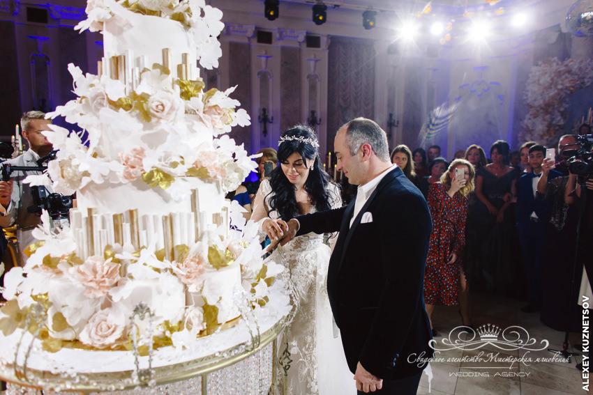 Свадебный торт грузинская свадьба