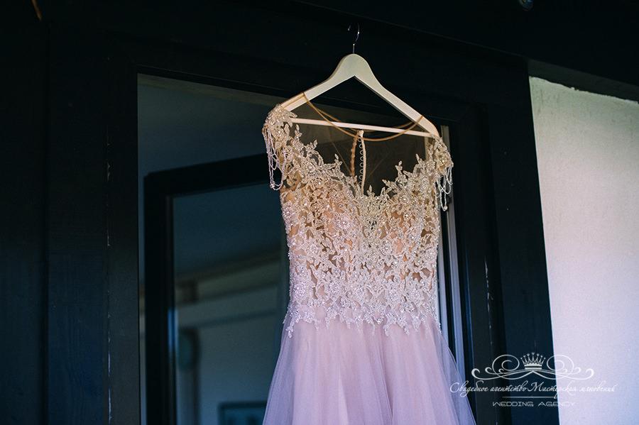 Платье невесты в загородном клубе Давинчи парк