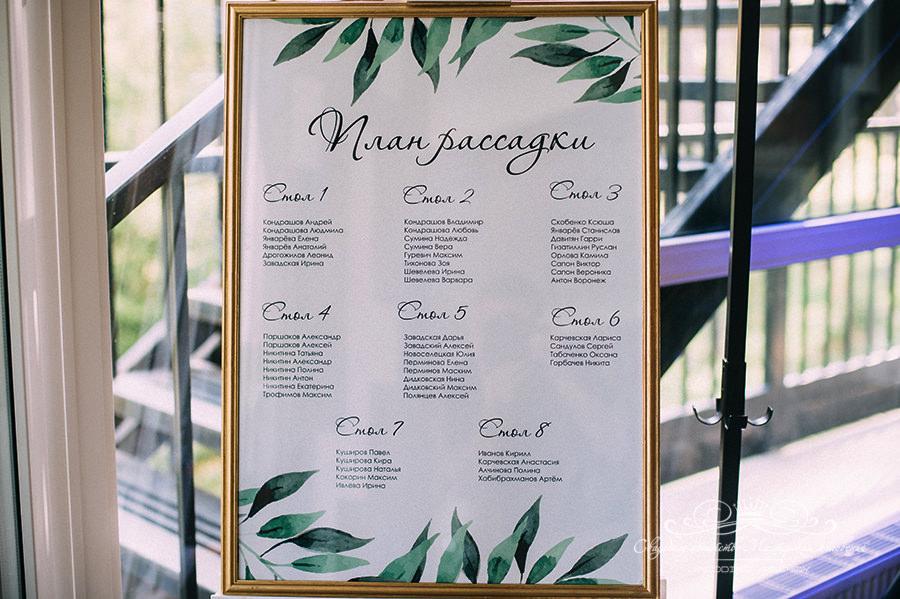 Декор свадьбы в загородном клубе Давинчи парк