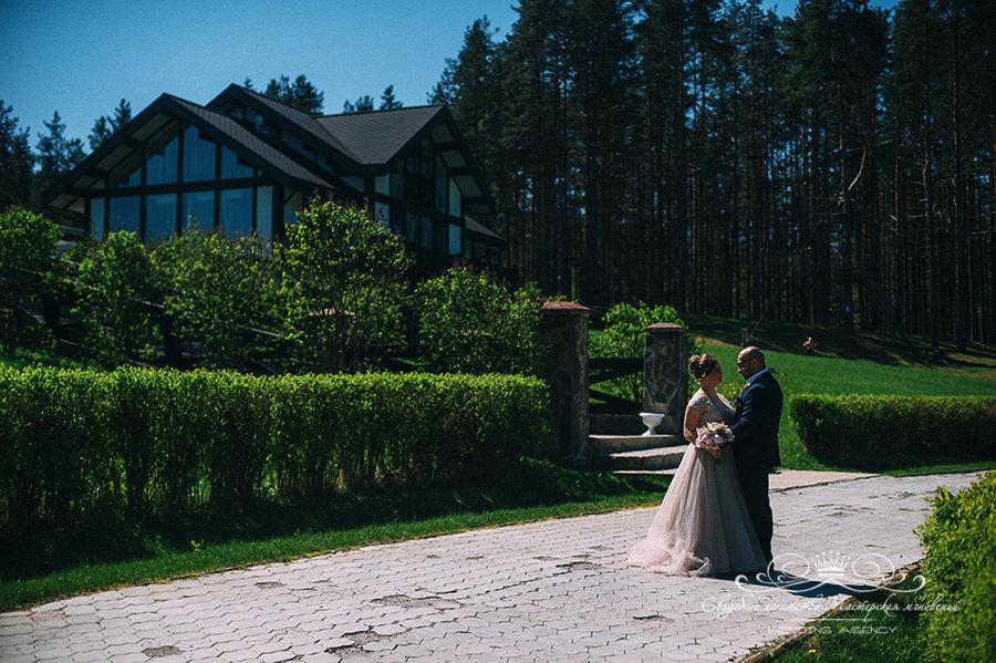 Фотосессия в день свадьбы в Давинчи